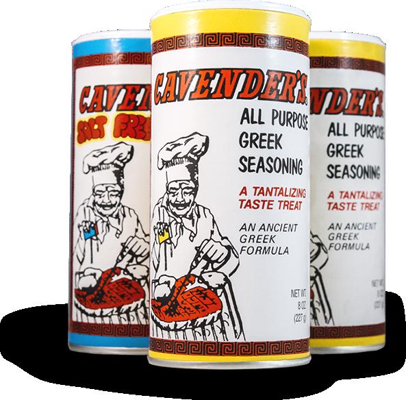 Greek seasoning cavenders